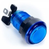 Translucent Blue LED Arcade Push button