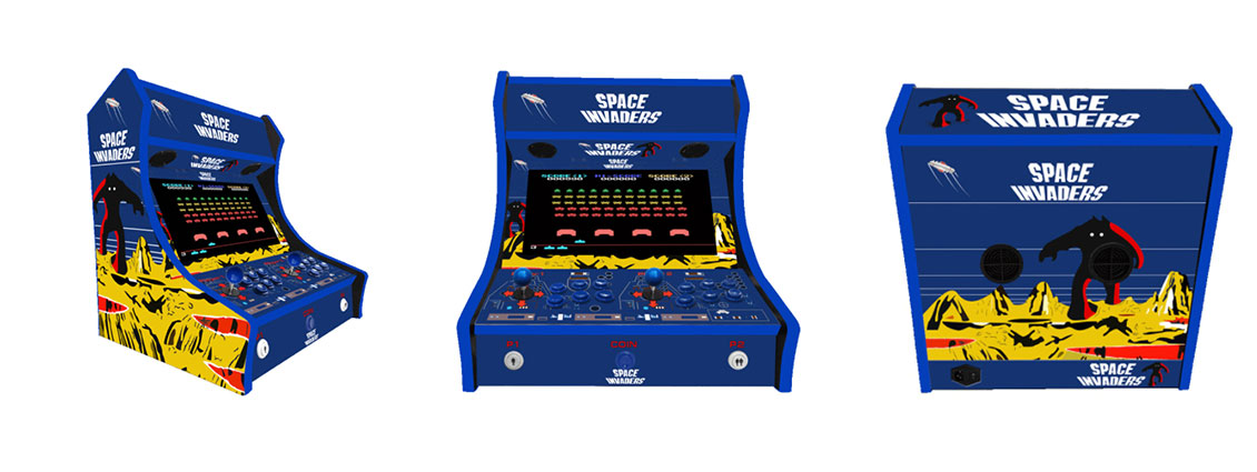 The Benefits of Bar Top Arcade Machines